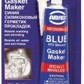 Герметик прокладок (синий) 85 г ABRO MASTERS 1/12 (10-AB-CH)