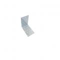 Уголок крепёжный  100*100*80*2,0 цинк Кунгур (30)