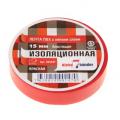 Изолента ПВХ 15мм*20м красная Klebebader