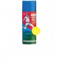 Эмаль аэрозольная флюоресцентная №101 желтая ABRO MASTERS  473мл 1/12 (SPF-101)